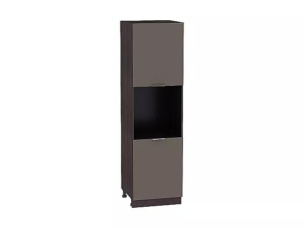 Шкаф-пенал под бытовую технику Терра ШП600 (Смоки софт)