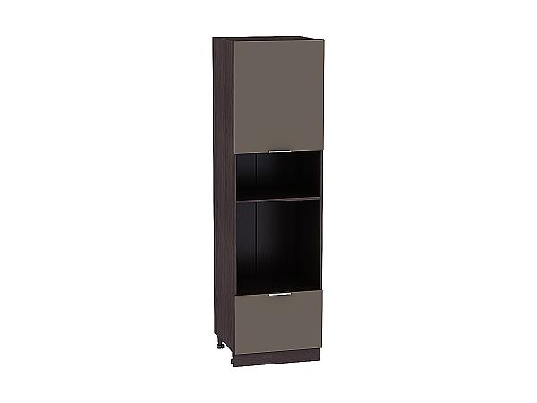 Шкаф-пенал под бытовую технику Терра ШП606 (Смоки  софт)