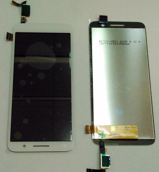 LCD (Дисплей) Alcatel 1 5033D (в сборе с тачскрином) (white)