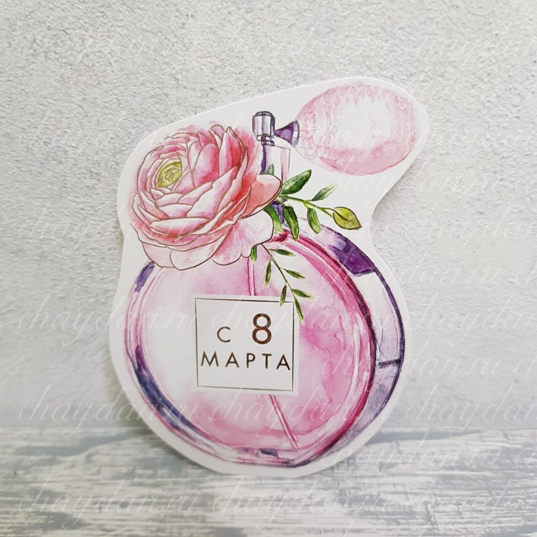 "Открытка ""8 марта"" - 6"