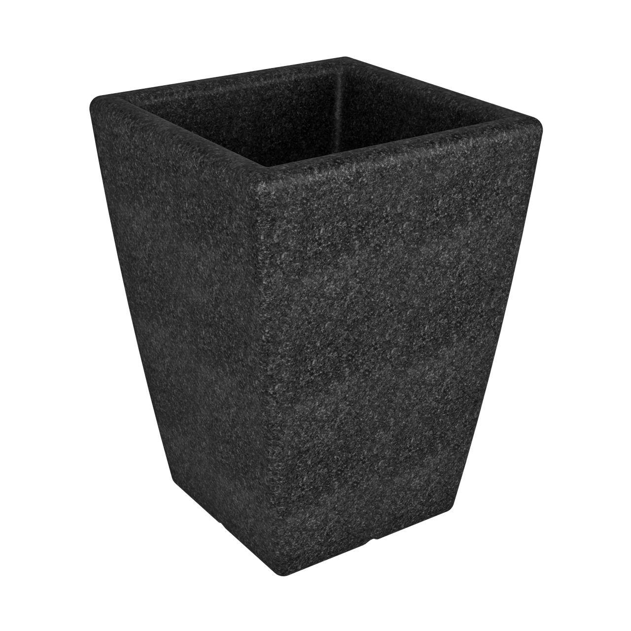 Кашпо FLOX P 680 черный гранит