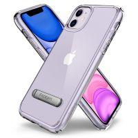 Купить оригинальный чехол Spigen Ultra Hybrid S для iPhone 11 прозрачный чехол для Айфон 11 в Москве в интернет магазине аксессуаров для смартфонов elite-case.ru