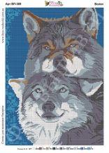 ВП-389 Фея Вышивки. Волки. А3