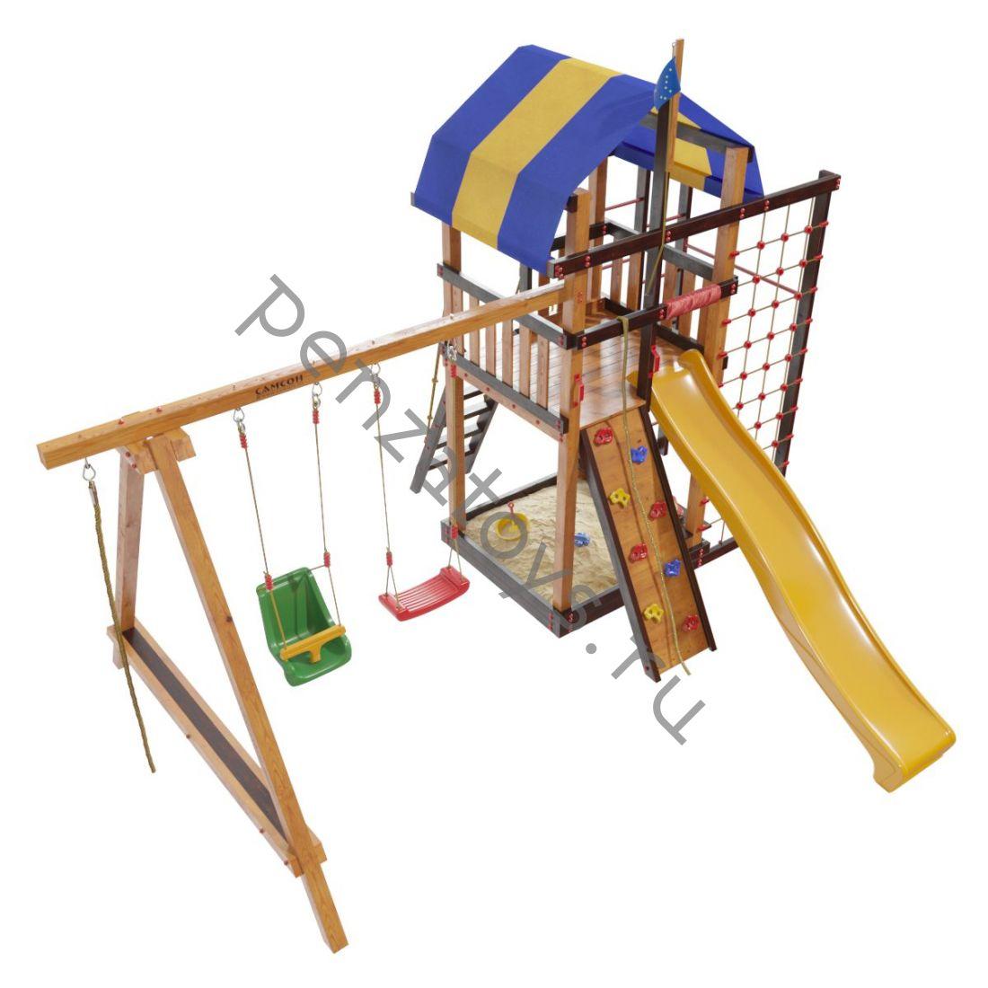Детская игровая площадка Самсон Аляска для дачи и улицы