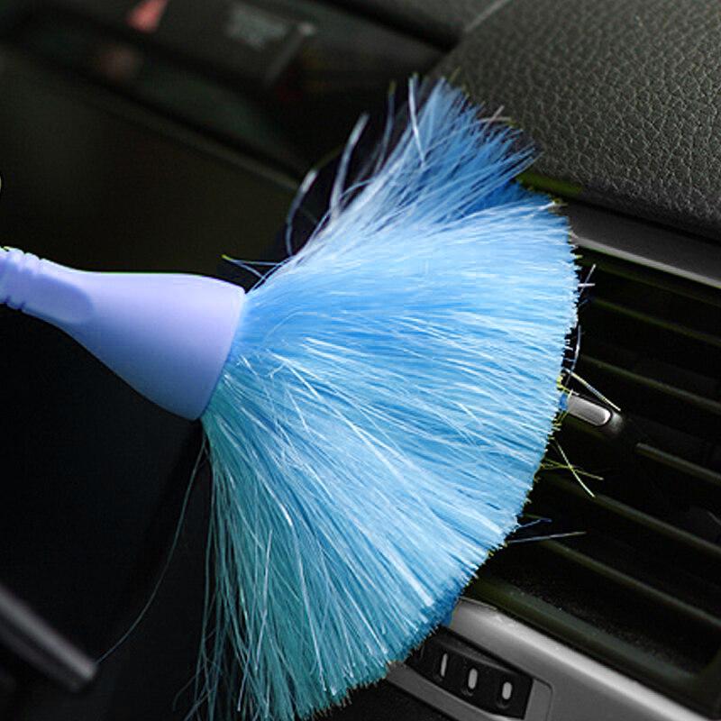 Мини-метёлка для уборки труднодоступных мест (цвет голубой)