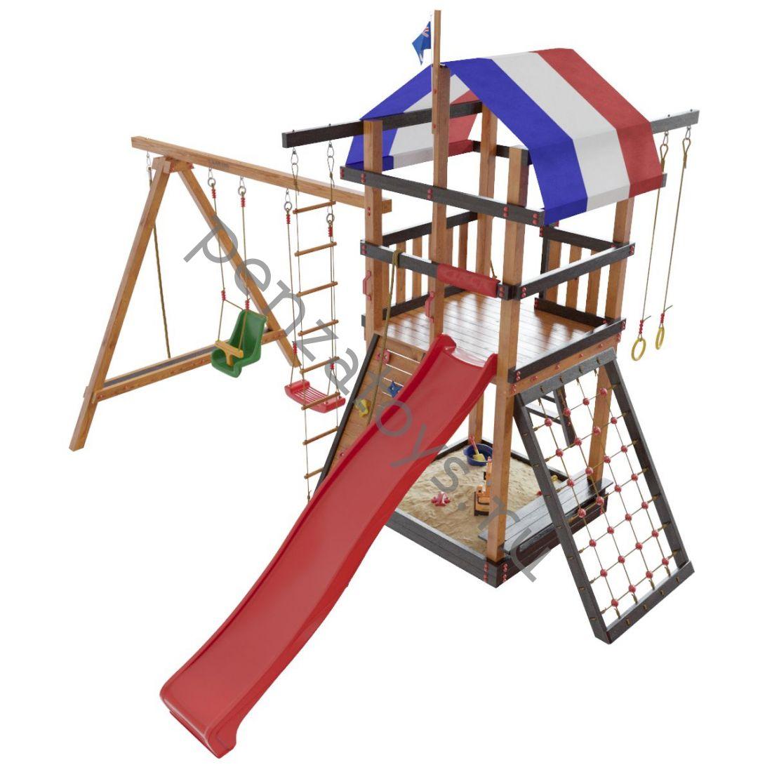 Детская игровая площадка Тасмания для дачи и улицы