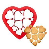 Форма для печенья Сердечки_2