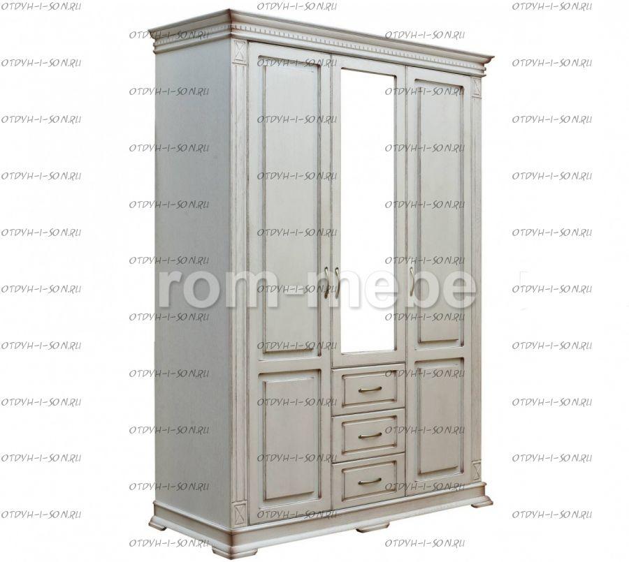 Шкаф 3-дверный Флоренция