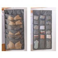Органайзер подвесной двусторонний 24 кармашка (цвет чёрный)