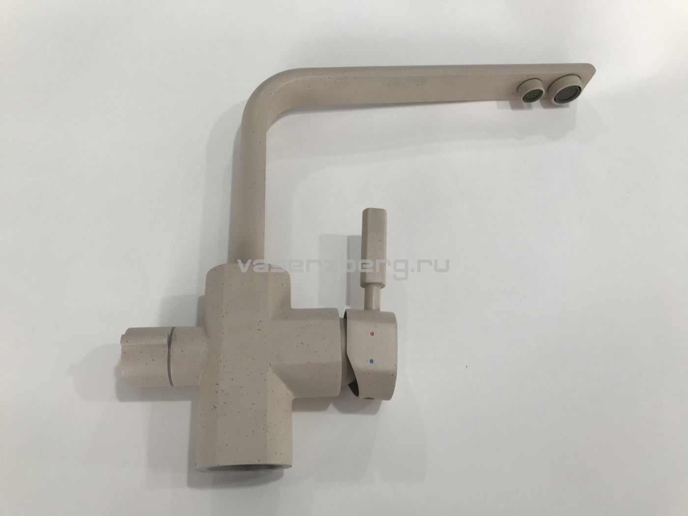 Kaiser Decor 40144-8 Granit Смеситель для кухни под фильтр Песочный