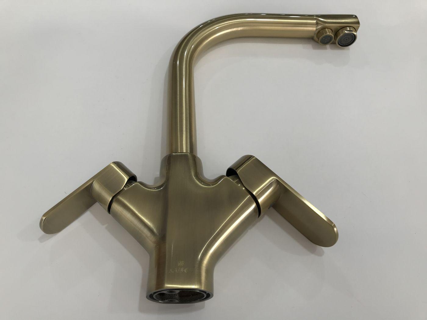 Kaiser Arena 33066-1 Bronze Смеситель для кухни с выходом под фильтр