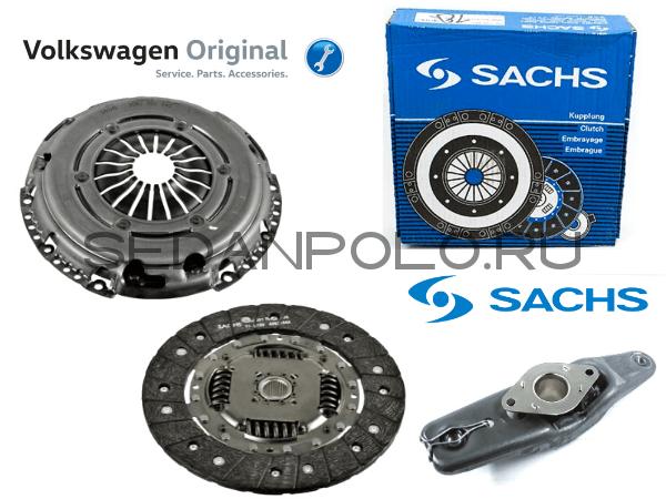 Комплект сцепления SACHS для Volkswagen Polo Sedan / Rapid 1.6