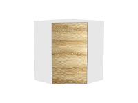 Шкаф верхний угловой Терра ВУ599W в цвете Ель карпатская