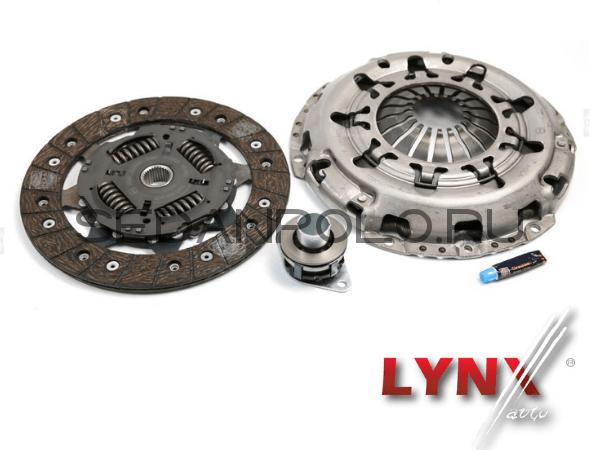 Комплект сцепления LYNX для Volkswagen Polo Sedan / Rapid 1.6