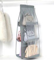Органайзер для сумок Hanging Purse Organizer (цвет серый)_2