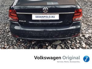 Хром молдинг крышки багажника Volkswagen Polo Sedan Рестайлинг