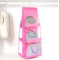 Органайзер для сумок Hanging Purse Organizer (цвет розовый)_2