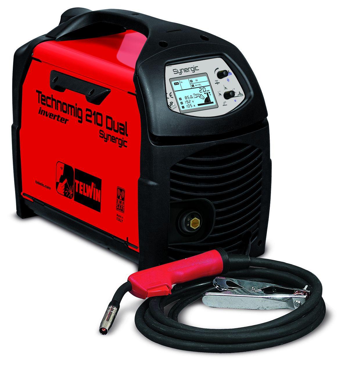 Сварочный полуавтомат TECHNOMIG 210 Dual Synergic 230 V