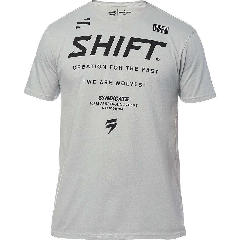 Shift - Muse SS Tee Steel Grey футболка, серая