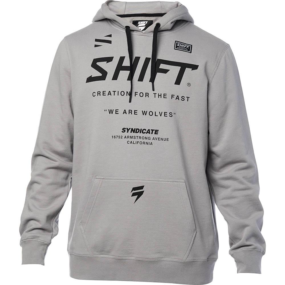 Shift - Muse Pullover Fleece Steel Grey толстовка, серая