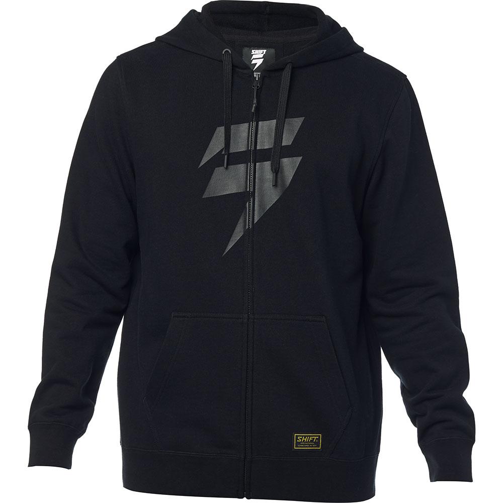 Shift - Corp Zip Fleece Black толстовка, черная
