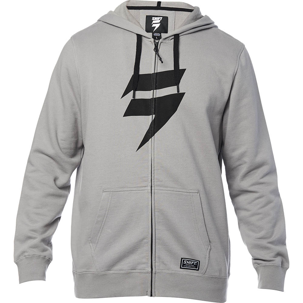 Shift - Corp Zip Fleece Steel Grey толстовка, серая