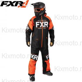Комбинезон FXR Clutch - Black/Orange мод. 2018