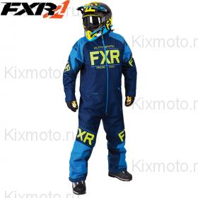 Комбинезон FXR Clutch - Navy/Blue мод. 2018