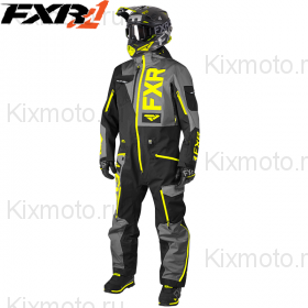 Комбинезон FXR Ranger Instinct Lite - Black/Charcoal мод. 2019