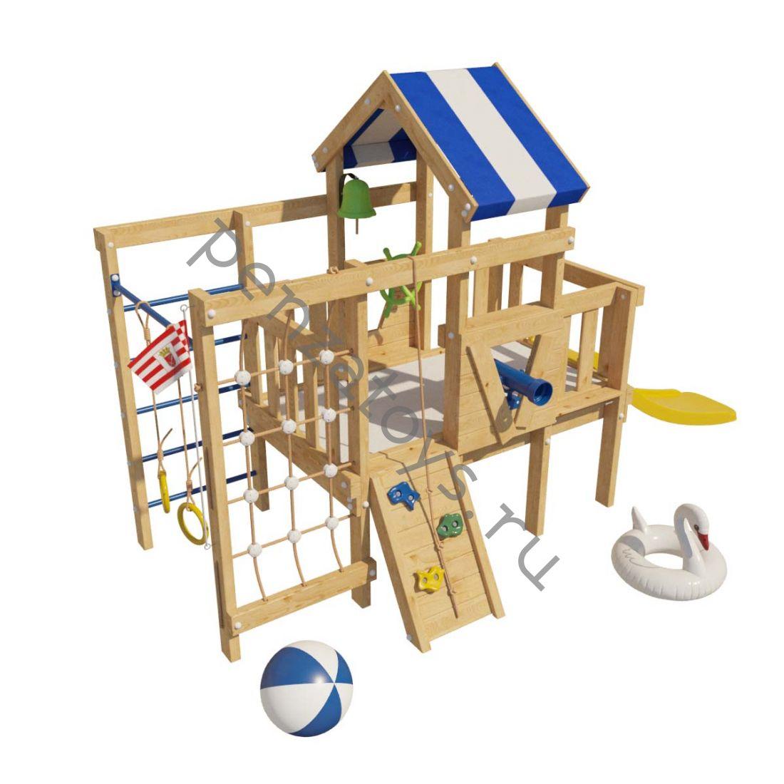 Детская игровая площадка/чердак ДОРИ для дома и дачи