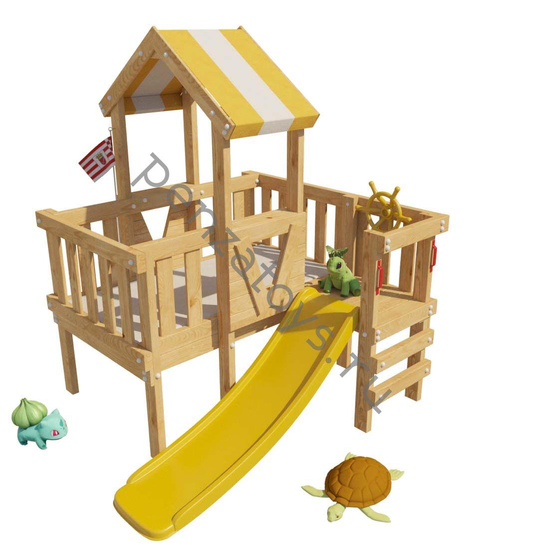 Детская игровая площадка/чердак СКУБИ для дома и дачи