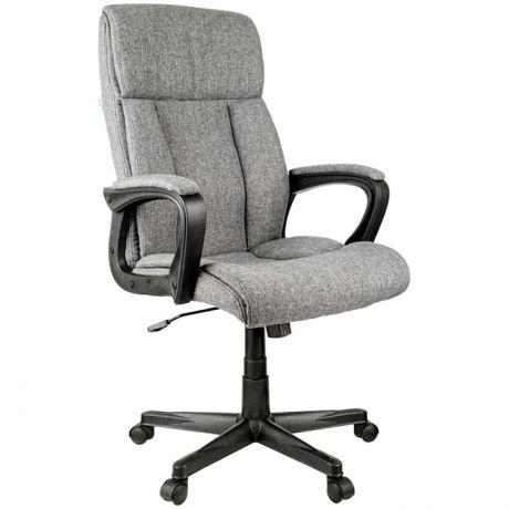 """Кресло руководителя Helmi HL-E23 """"Canvas"""", ткань серая"""