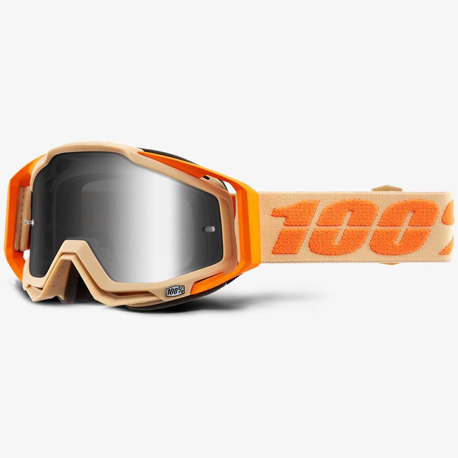 100% Racecraft Sahara Mirror Silver Lens, очки для мотокросса