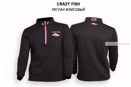 Купить Реглан флисовый CRAZY FISH cotton
