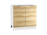 Шкаф нижний с 2-мя дверцами Терра Н800W в цвете Ель карпатская