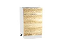 Шкаф нижний 1 ящиком и дверцей Терра Н501W (Ель карпатская)