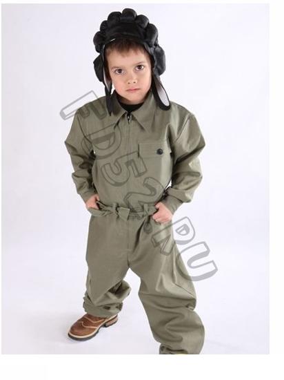 """Комбинезон """"Танкиста"""" с шлемом КС56.1"""