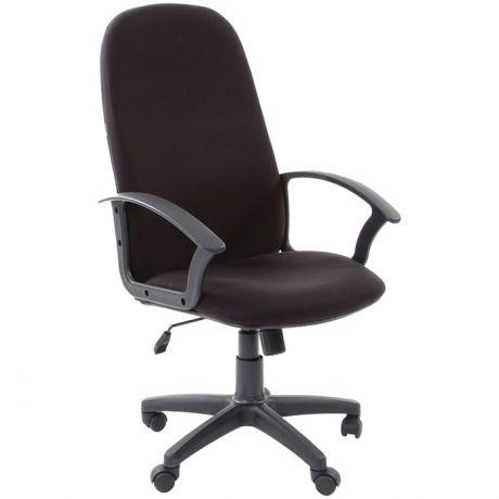 Кресло руководителя Chairman 289NEW PL, ткань черная