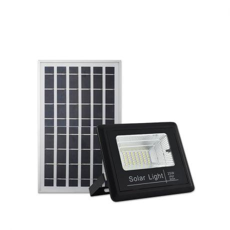 Cветодиодный Led cолнечный прожектор 25W по заводской цене с дистанционным управлением