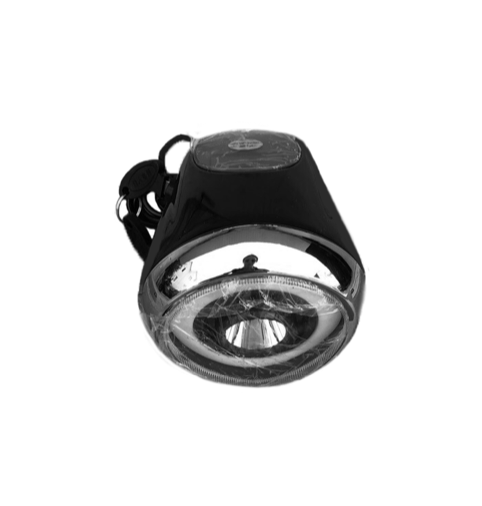 Фара-спидометр плоский для электроскутера Citycoco Рыбий глаз