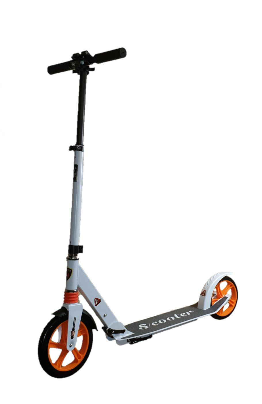 G00006 Самокат для взрослых Urban Scooter Max с передним амортизатором большие колеса 230