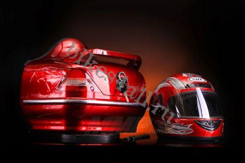 Кофр для мотоцикла Soyo (Красный)