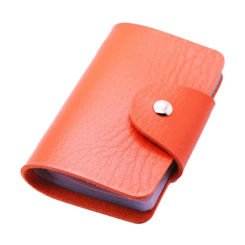 Кредитница-Визитница на 24 карты (цвет оранжевый)