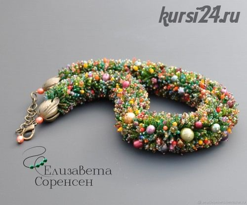 Мастер-класс: плетеные цветочки (Елизавета Соренсен)