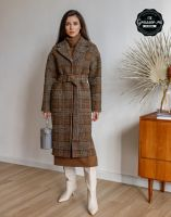 Пальто, выкройка №142. Размер 48, рост 164-170 [Grasser]