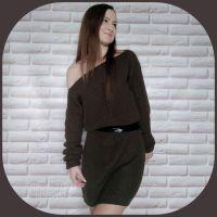 Платье жемчужной резинкой (Ольга Ерофеева)