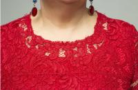 [Модные Практики] Обработка горловины кружевного платья фестонами (Ирина Паукште)