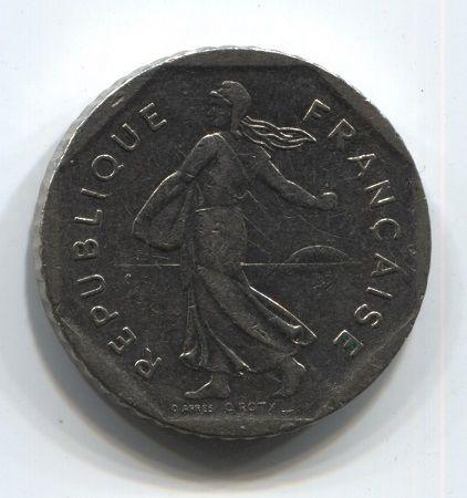2 франка 1981 года Франция