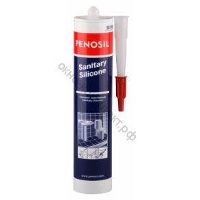 Герметик силиконовый санитарный белый Penosil S 310мл