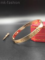 Сartier Love Bracelet Without Diamonds Розовое золото